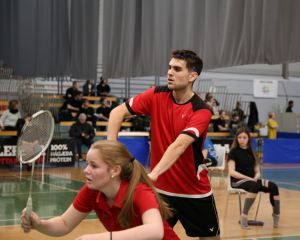 Lena Germann Felix Hammes Island International SV Fischbach Badminton